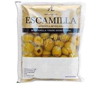 Escamilla Aceituna Manzanilla sin Hueso Bolsa de 80 Gramos