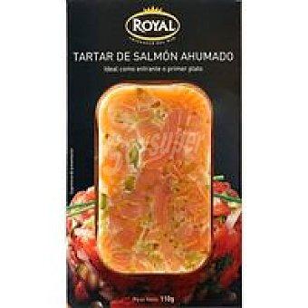 Pescados Royal Tartar de salmón ahumado  Envase 110 g