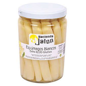 JALON Espárragos blancos extra Frasco 575 gr