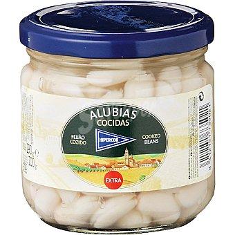 Hipercor Alubia blanca cocida extra Frasco 200 g neto escurrido