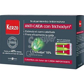 Kerzo Tratamiento intensivo anticaída con trichodyn Caja 15 unidades