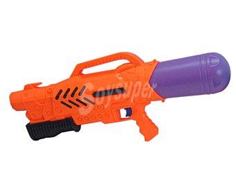 EURASPA Pistola de agua de larga distancia y gran alcance, 56x25x10 centímetros 1 unidad