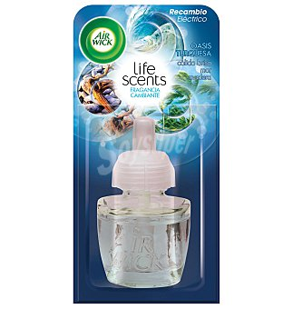 Air Wick Ambientador life scents fm oasis  1 unidad
