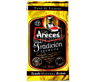 Areces Café molido natural Colombia 250 Gramos