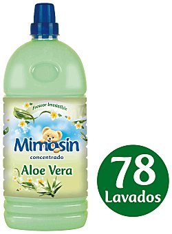 Mimosín Suavizante concentrado de aloe vera botella 58 dosis