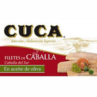Cuca Filete de caballa en aceite de oliva Lata 125 g
