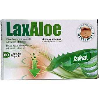 Santiveri Ayuda a la regularidad del tránsito intestinal Laxaloe Envase 60 capsulas