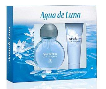 Agua de Luna Estuche Colonia Mujer 100 Mililitros + Body Milk 100 Mililitros 1 Unidad