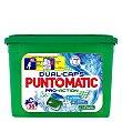 Detergente en cápsulas pro-action 36 lav. Puntomatic