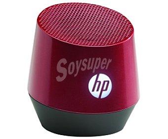 HP S4000 Altavoz Portátil Rojo, Conexión con Clavija Jack 3,5, Batería con duración de hasta 12 Horas,