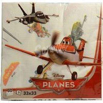 AVANCE Servilleta Planes 3 capas 33x33 Paquete 30 unid