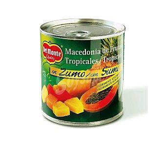 Del Monte Macedonia de frutas tropicales en zumo Lata 263 g neto escurrido