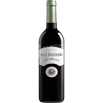 Montesierra vino tinto ecológico D.O. Somontano botella 75 cl