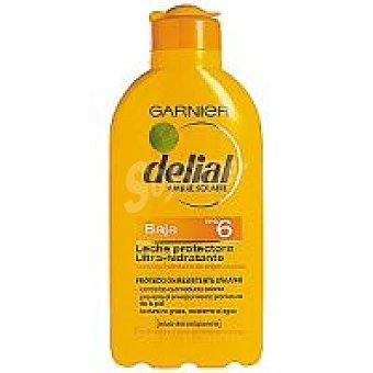 Delial Garnier Leche solar F6 Bote 200 ml