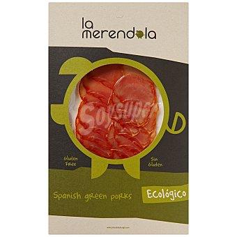 LA MERENDOLA Lomo embuchado ecológico en lonchas 75 gramos