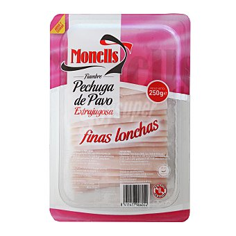 Monells Pechuga de pavo finas lonchas Envase 270 g