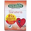 Tisana con hojas de olivo sabor frutos rojos Sanatens bolsita 20 ud Susaron
