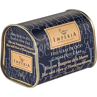 Imperia Foie gras de oca con trompetas de la muerte lata 130 g lata 130 g