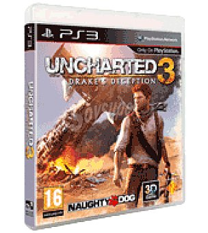 Sony Juego PS3 uncharted 3 sony