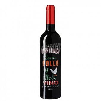 Desde siempre bienbebido Vino tinto Come Pollo y Bebe Vino Bienbebido Botella 75 cl