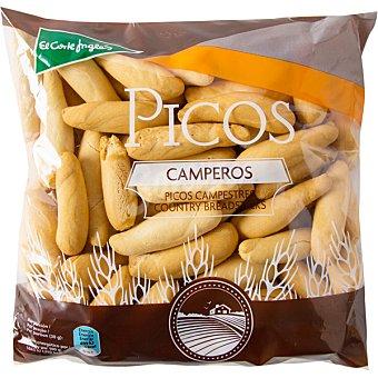 El Corte Inglés Picos de pan camperos bolsa 250 g Bolsa 250 g