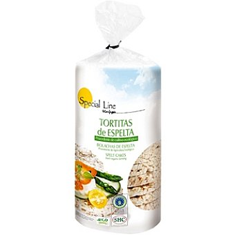 Special Line Tortitas de espelta ecológica Envase 120 g