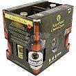 Trabel BOX cerveza rubia belga estuche 6 botellas 33 cl + 2 Copas Estuche 6 botellas 33 cl Carlos V