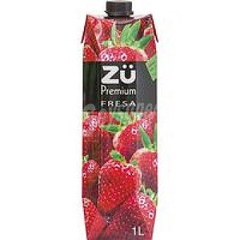 Zü Premium Bebida de fresa 1l