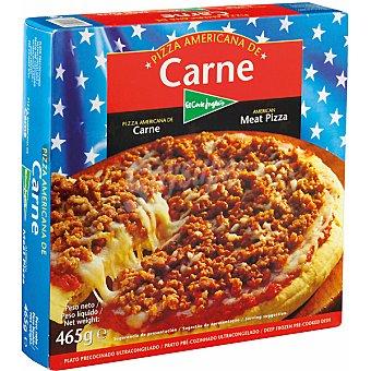 El Corte Inglés Pizza americana de carne Estuche 465 g