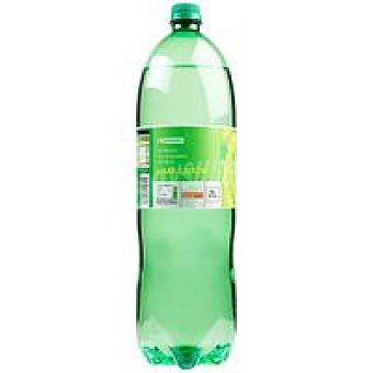 Eroski Refresco con gas sabor lima Botella 2 litros