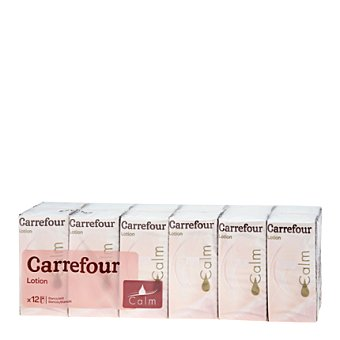 Carrefour Pañuelo de bolsillo Lotion 12 ud