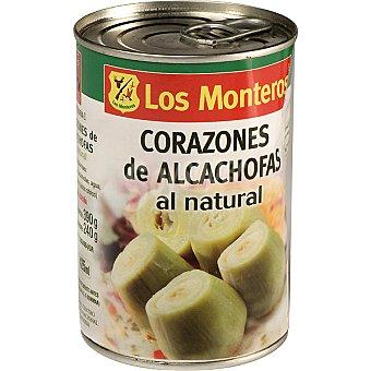 Los Monteros Corazones de alcachofa al natural 6-8 piezas Lata 240 g neto escurrido