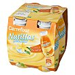 Natillas para beber sabor vainilla Pack 4x100 g Carrefour