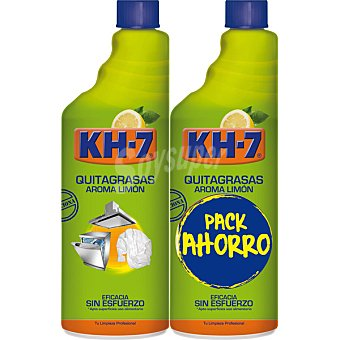 KH-7 Quitagrasas cítrico recambios 750 ml Pack 2