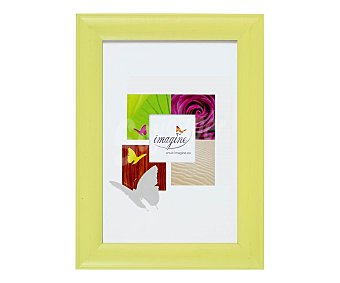 IMAGINE Portafotos de color verde anis modelo Fiesta, para fotografias de tamaño 20x30 DIN A4 1 Unidad
