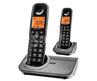 Alcatel Teléfono inalámbrico dúo Detc  SIGMA 260 1 unidad