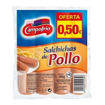 Campofrío Salchichas pollo 140 grs