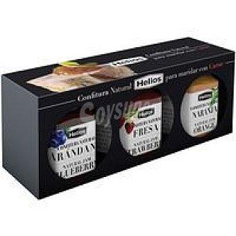 Helios Confitura natural para maridar carne Pack 3x45 g