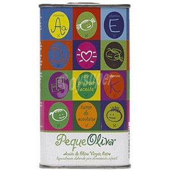 VEGA CARABAÑA PEQUEOLIVA Aceite de oliva virgen extra especial para alimentación infantil lata 250