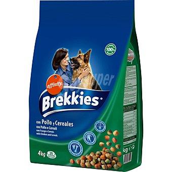 Brekkies Affinity Con pollo y arroz para perro Bolsa 4 kg