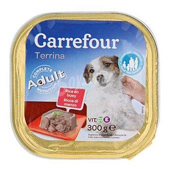 Carrefour Delicias de buey para perro 300 gr