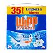 Detergente lavadora polvo aroma vernel Paquete 2170 g Wipp Express