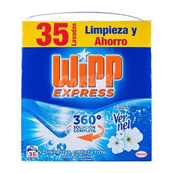 Wipp Express Detergente lavadora polvo aroma vernel Paquete 2170 g