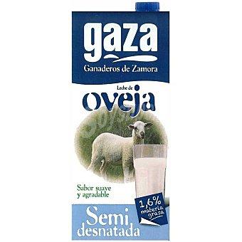 GAZA Leche de oveja semidesnatada envase 1 l