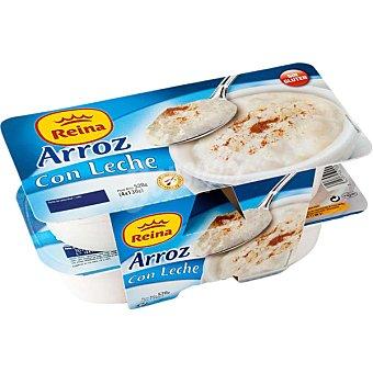 REINA Arroz con leche  pack 4 unidades 130 g
