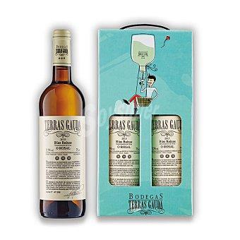 """Terras Gauda Estuche de vino D.O. """"rías Baixas"""" blanco albariño Pack 2x75 cl"""