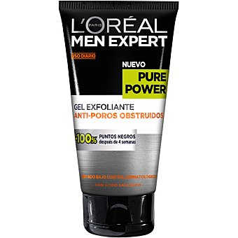 L'Oréal-Men Expert Gel exfoliante anti-poros obstruidos Pure Power 150 ml