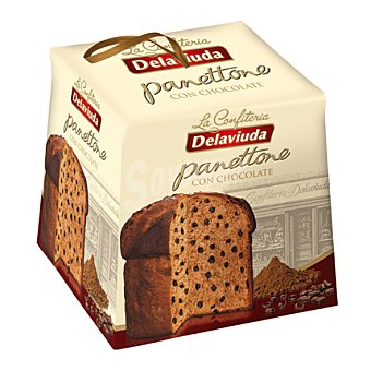 Delaviuda Panettone de chocolate 500 g