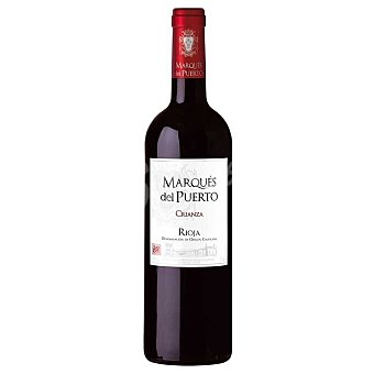 Marqués del Puerto Vino tinto D.O. Rioja Crianza Botella 75 cl