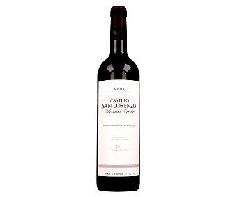 Castillo San Lorenzo Vino tinto maturano con denominación de origen Rioja coleccion terroir Botella de 75 cl